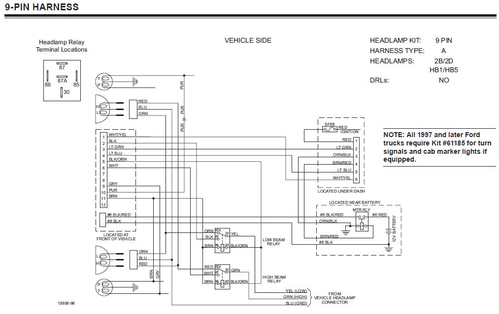 Stupendous Fisher Wiring Harness Wiring Diagram Wiring Cloud Licukshollocom