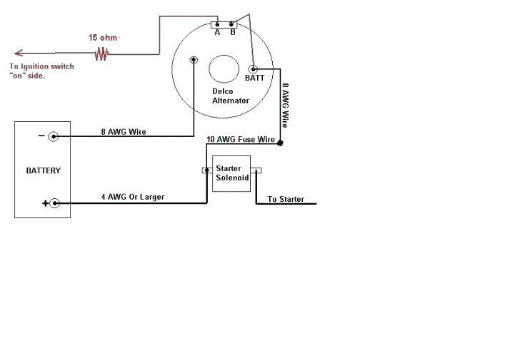 Dg 9988 Wire Alternator 3 Wire Alternator Wiring Diagram Download Diagram