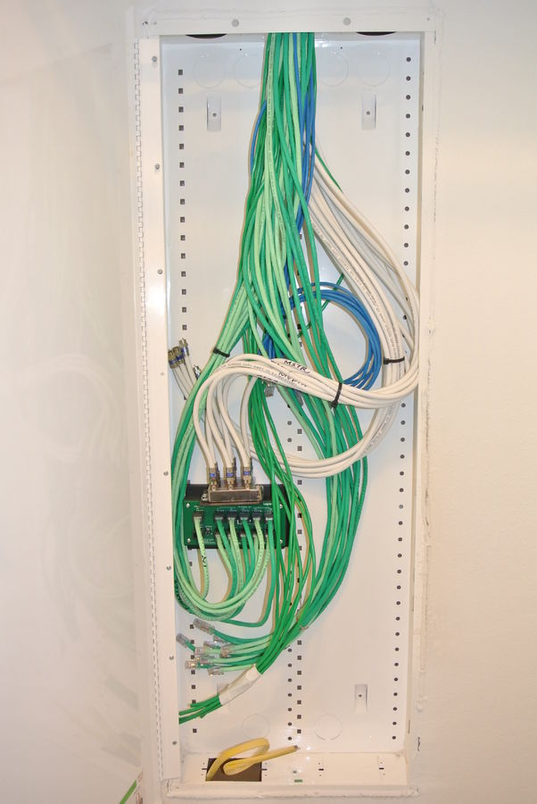 Astonishing Directv Comcast Install Structured Wiring Cabinet Install Wiring Cloud Eachirenstrafr09Org