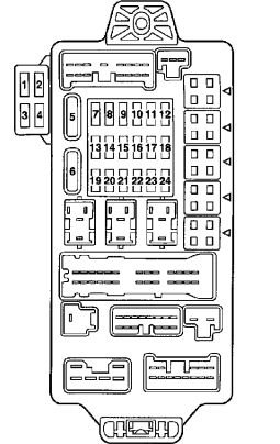 DD_3387] 2004 Mitsubishi Endeavor Fuse Box Location Schematic Wiring