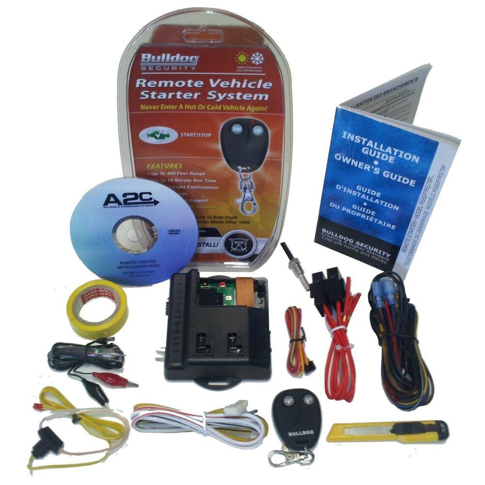 Ma 8581 Bulldog Ke1702 Keyless Entry System Remote Starter