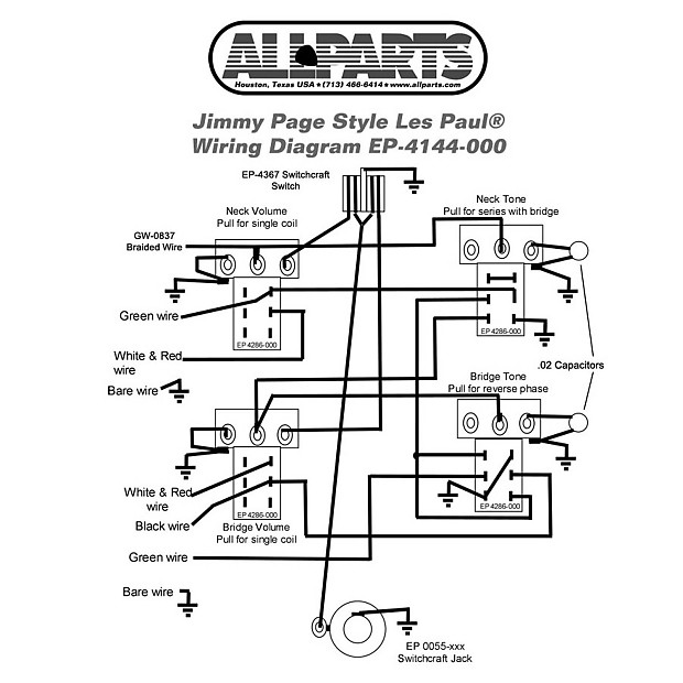 Super Wiring Kit Gibson Jimmy Page Les Paul Complete With Reverb Wiring Cloud Filiciilluminateatxorg