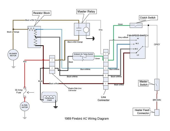 1969 Pontiac Firebird Wiring Schematic