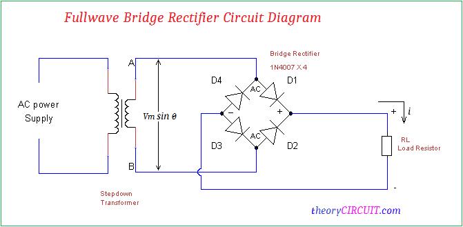 Marvelous Full Wave Bridge Rectifier Circuit Diagram Wiring Cloud Rineaidewilluminateatxorg