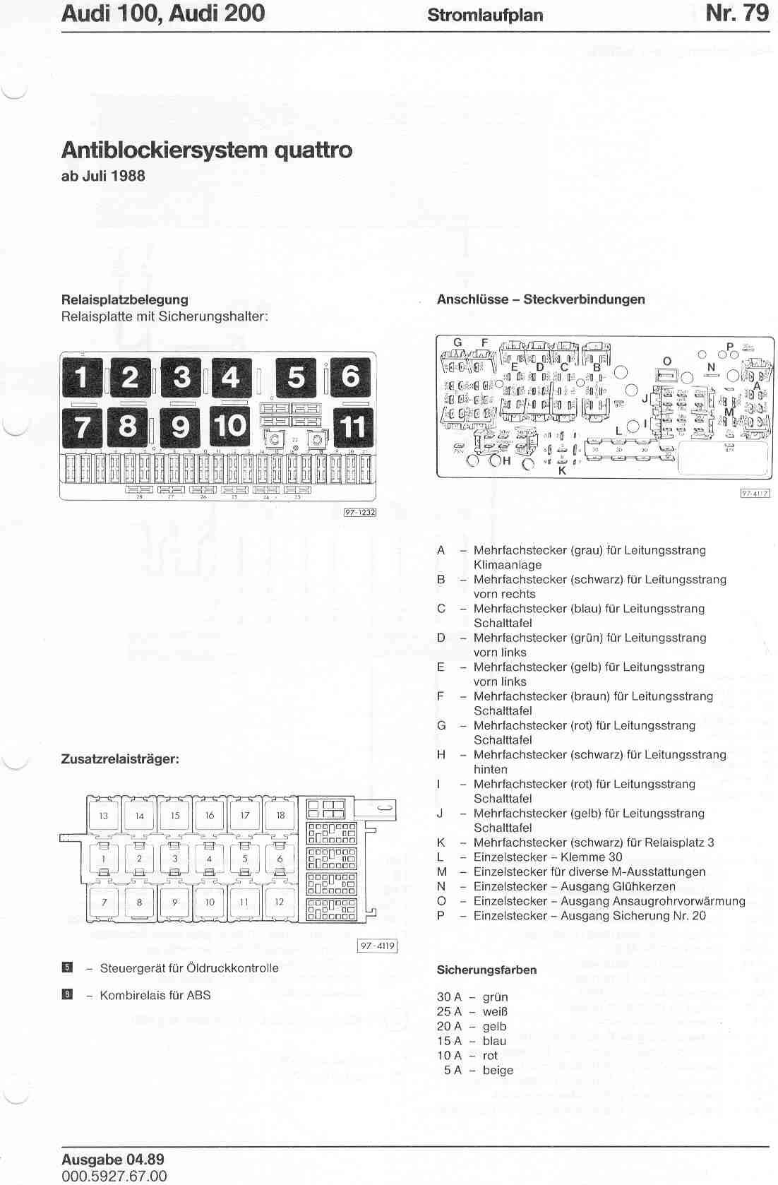 Superb Audi 80 B4 Fuse Box Basic Electronics Wiring Diagram Wiring Cloud Hemtshollocom