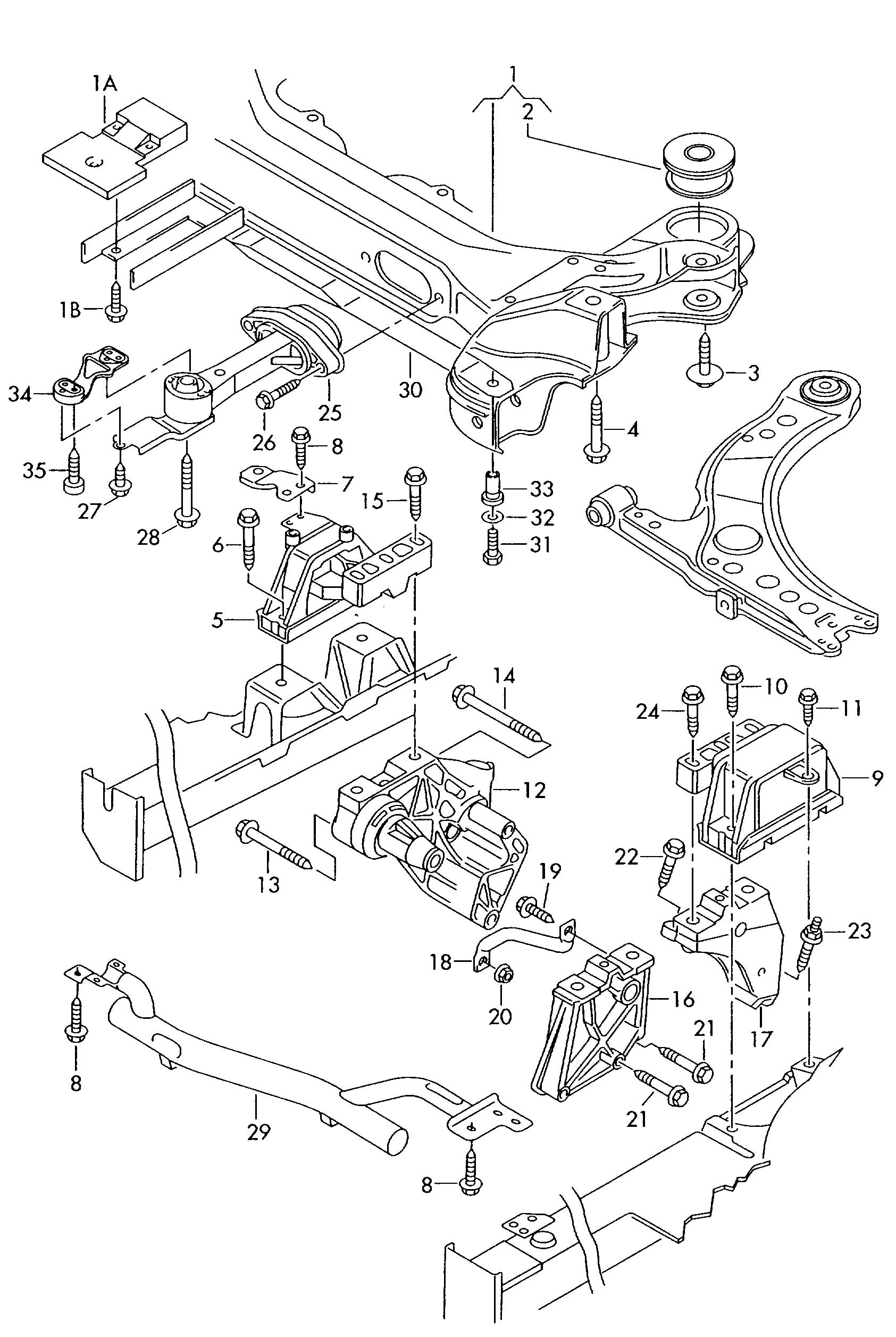 2001 Vw New Beetle Parts Diagram