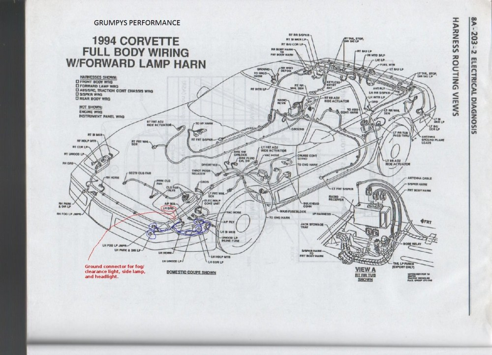 1994 Corvette Wiring Diagram