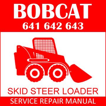 Incredible Bobcat 641 642 643 Skid Steer Loader Service Manual Pdf Shop Wiring Cloud Licukosporaidewilluminateatxorg