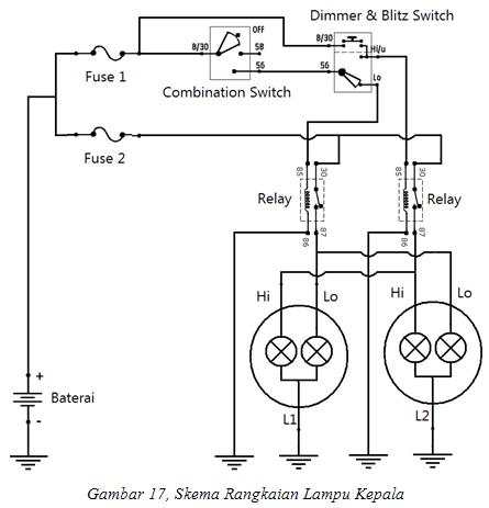 Kb 7859 Wiring Lampu Kepala Mobil Wiring Diagram