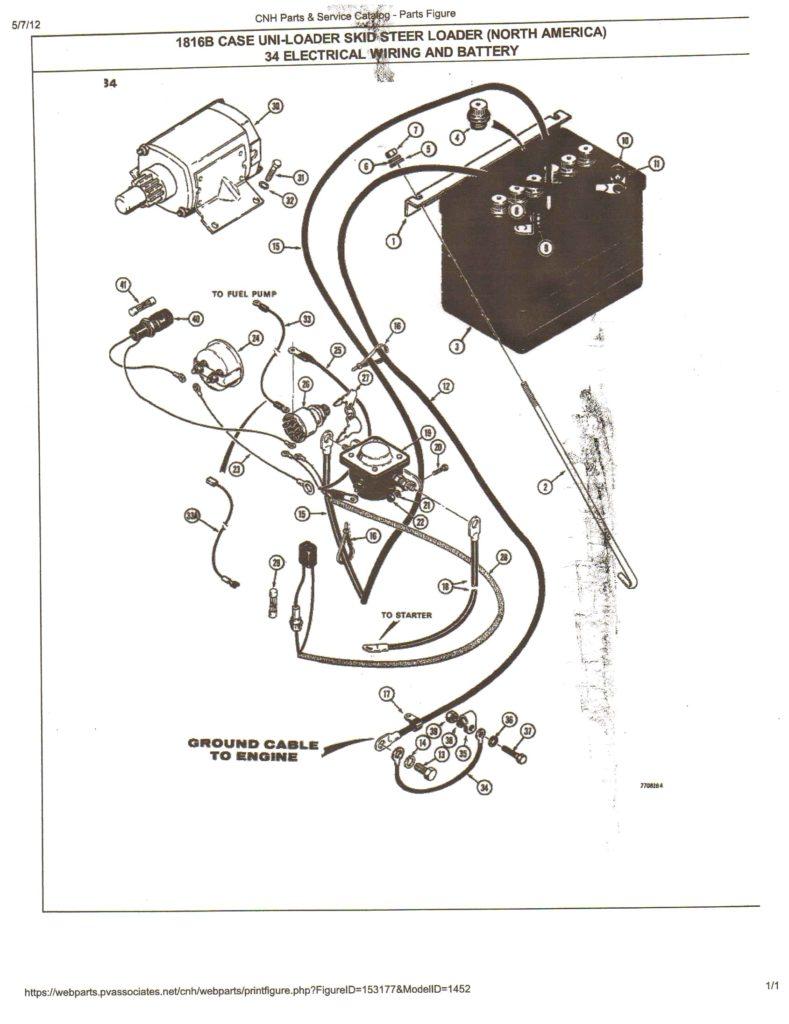 Bobcat 643 Wiring Diagram