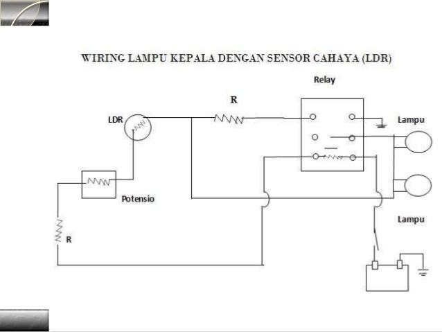 Wiring Diagram Lampu Kepala Kijang