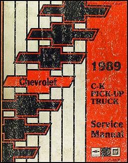 Remarkable 1989 Chevrolet C K Pickup Truck Repair Shop Manual Original Wiring Cloud Rineaidewilluminateatxorg