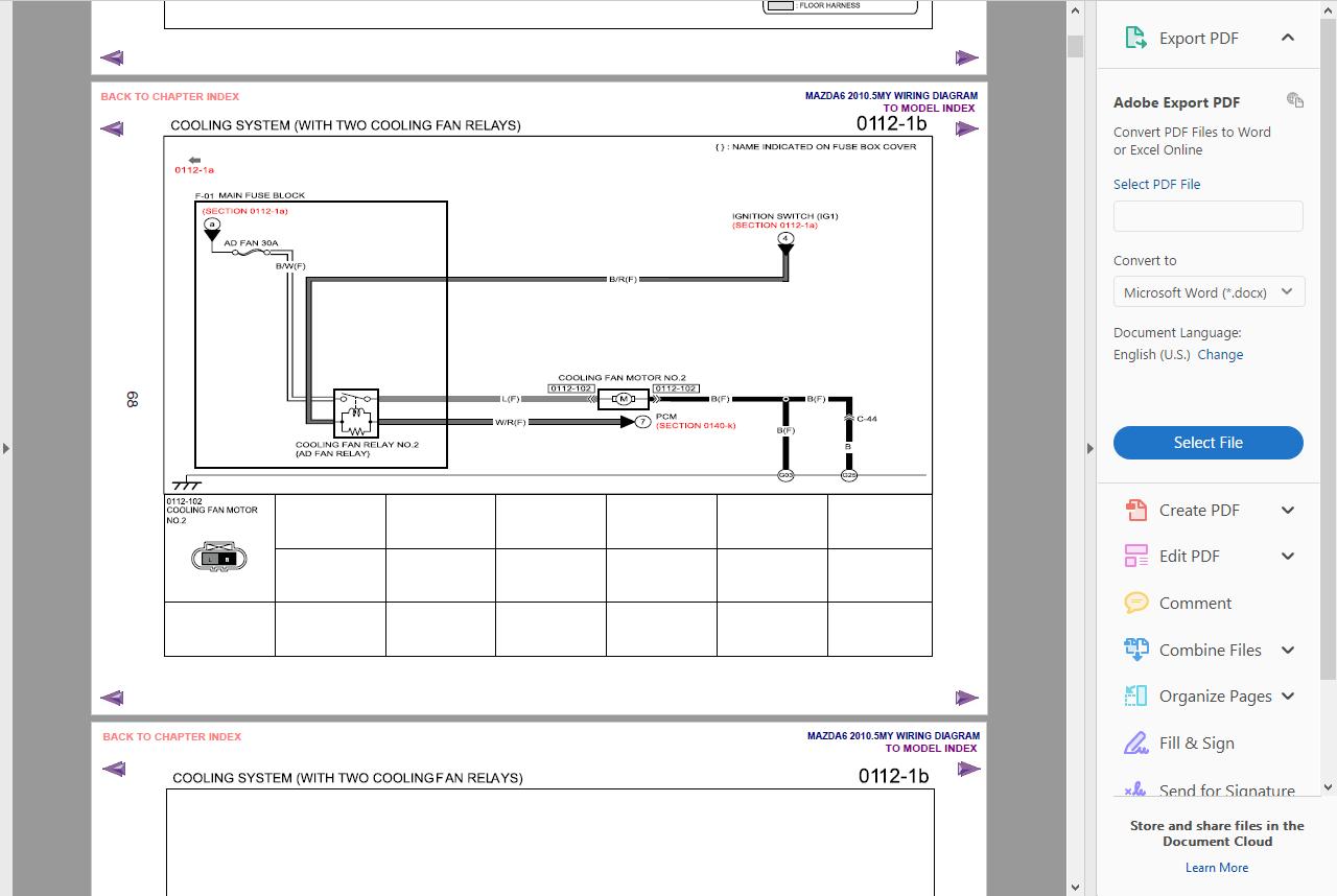 2002 Mazda MPV Minivan Factory OEM Wiring Diagram Service Repair Manual