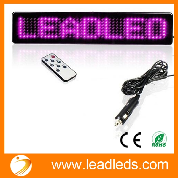 Awe Inspiring Car Led Display Remote Control Sign Board Programmable Message Sign Wiring Cloud Rometaidewilluminateatxorg