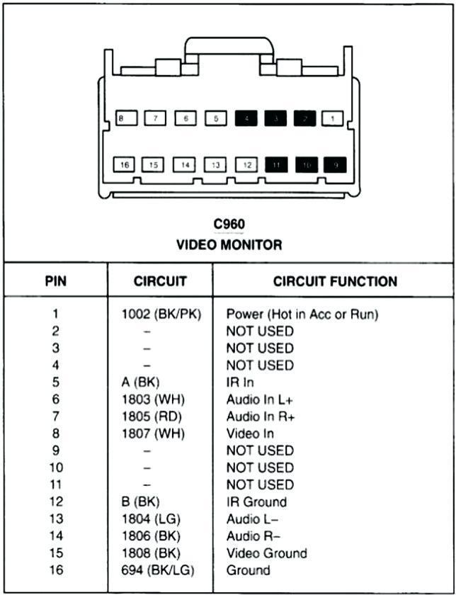 pioneer 16 pin wiring harness schematic  serial to ethernet