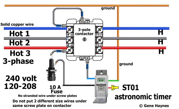 Tremendous 208V Contactor Wiring Basic Electronics Wiring Diagram Wiring Cloud Filiciilluminateatxorg