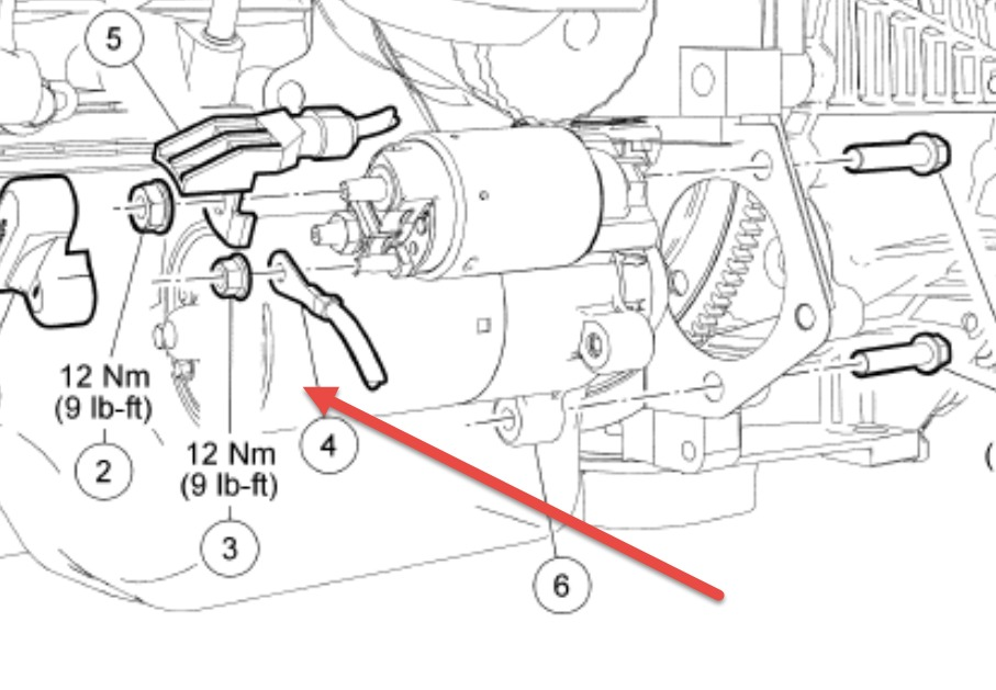 2003 Windstar Starter Wiring Diagram