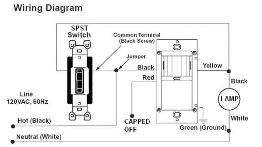 Cv 9854 Wiring A 3 Way Motion Switch