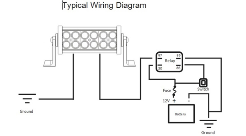 [DIAGRAM_38DE]  XK_0458] Highbeam Switch Wiring To Led Light Bar Led Light Bar Wiring  Diagram | Led Bar Wiring Diagram |  | Impa Exmet Mohammedshrine Librar Wiring 101