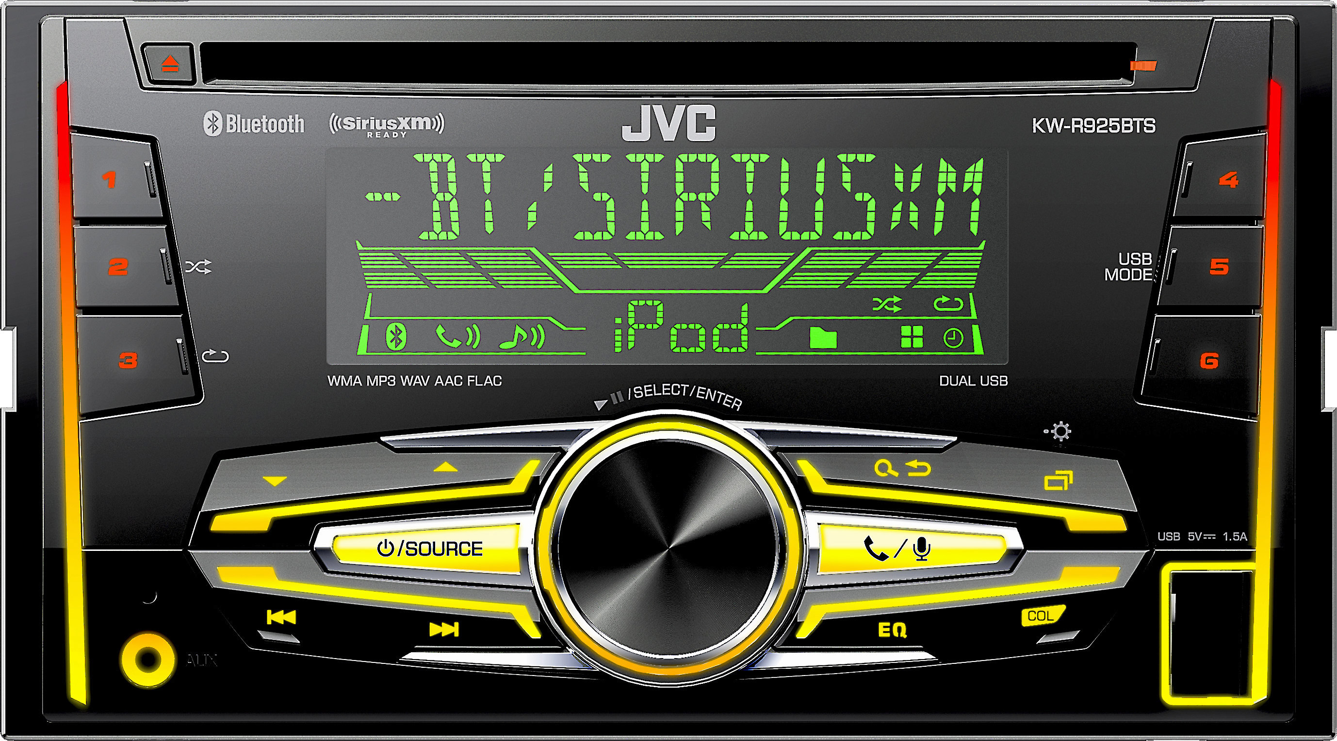 Pleasing Jvc Kw R925Bts Cd Receiver At Crutchfield Com Wiring Cloud Cranvenetmohammedshrineorg