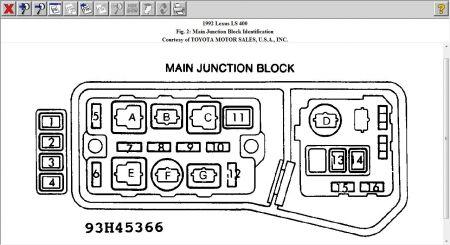 MB_6673] 1992 Lexus Ls400 Fuse Box Diagram Download Diagram