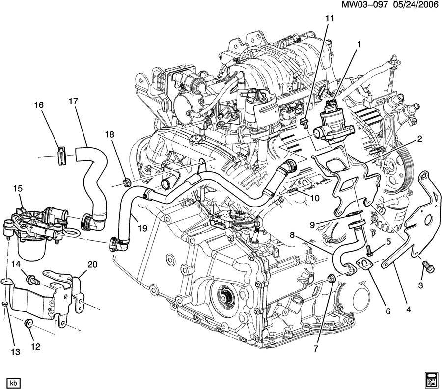 Th 5949  2004 Pontiac Grand Prix Cooling System 2004