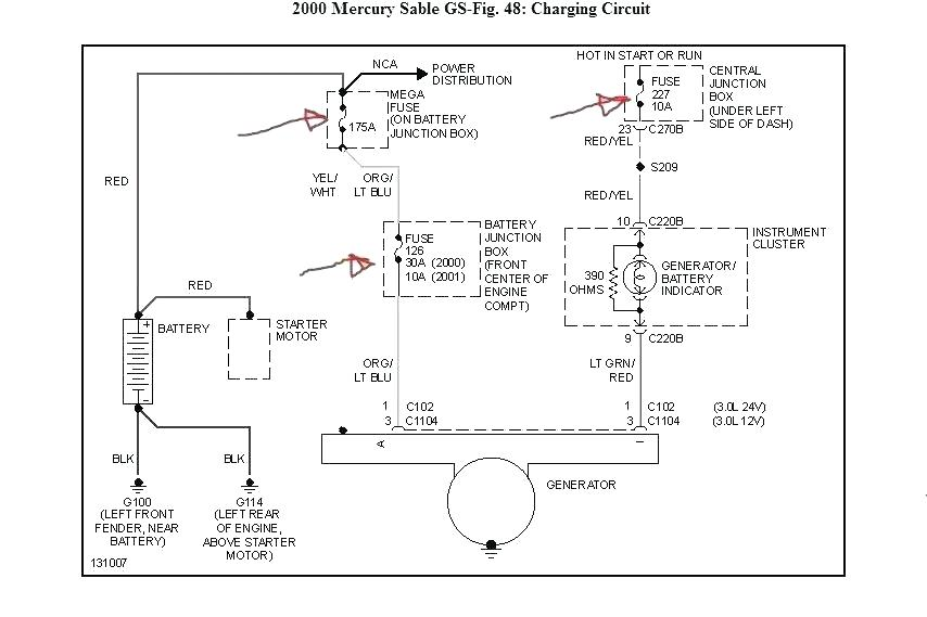 Mercury Cougar Radio Wiring Diagram