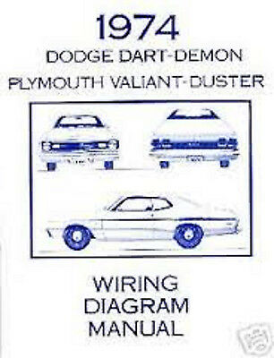 Fm 8631 1972 Dodge Dart Plymouth Duster Valiant Wiring Diagrams Schematic Wiring