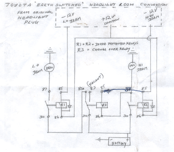 Toyota Land Cruiser 80 Series Wiring Diagram