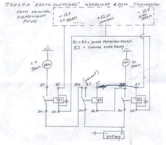 Toyota Land Cruiser 80 Series Wiring Diagram