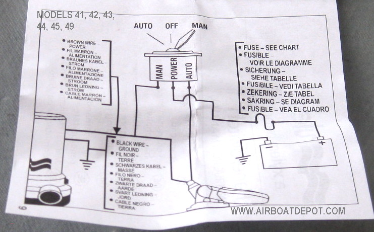 hn1609 rule bilge pump switch wiring diagram rule