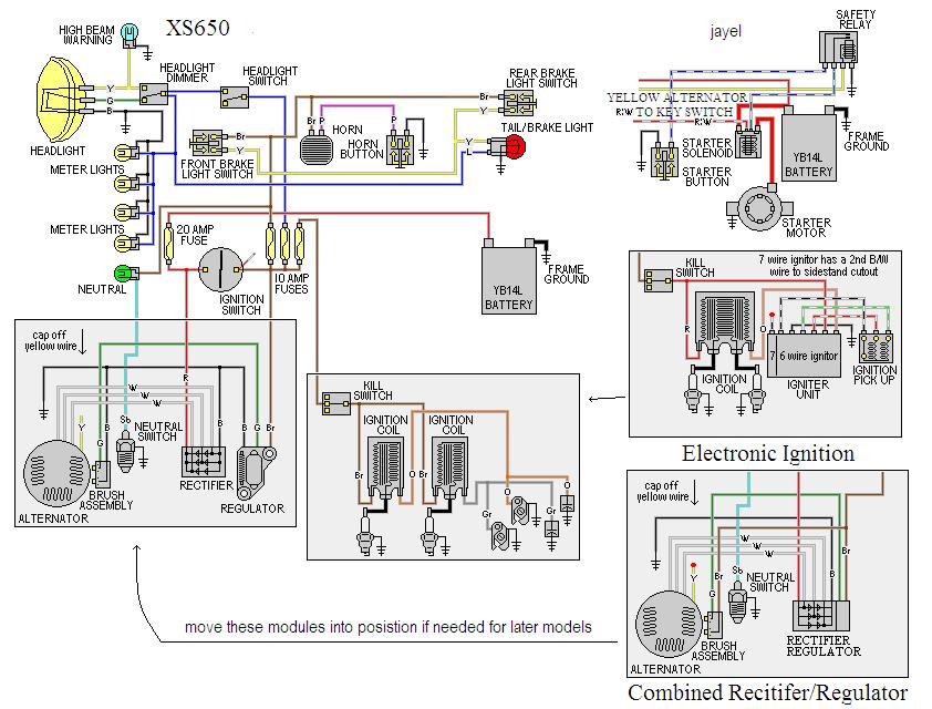 Groovy 1982 Yamaha Xj650 Wiring Diagram Basic Electronics Wiring Diagram Wiring Cloud Ostrrenstrafr09Org