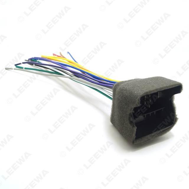 Surprising Online Shop Leewa Car Cd Player Radio Audio Stereo Wiring Harness Wiring Cloud Rdonaheevemohammedshrineorg