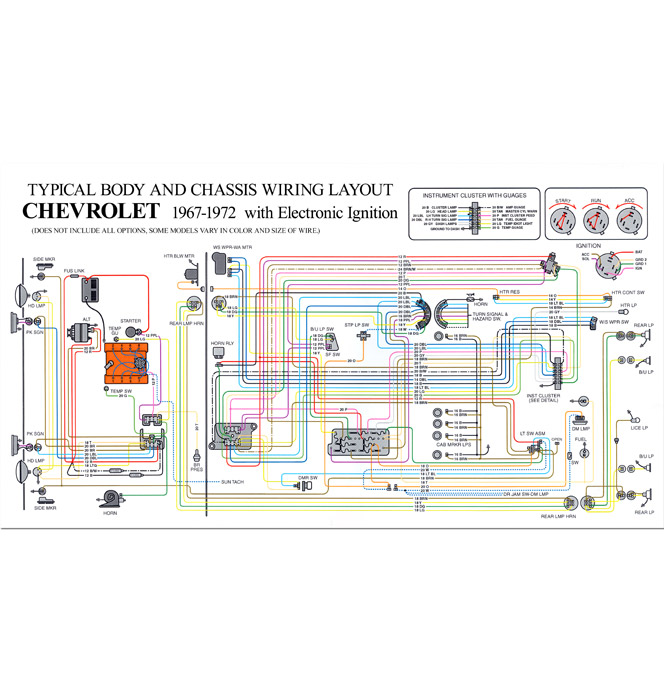 1972 Chevy C10 Light Wiring Diagram