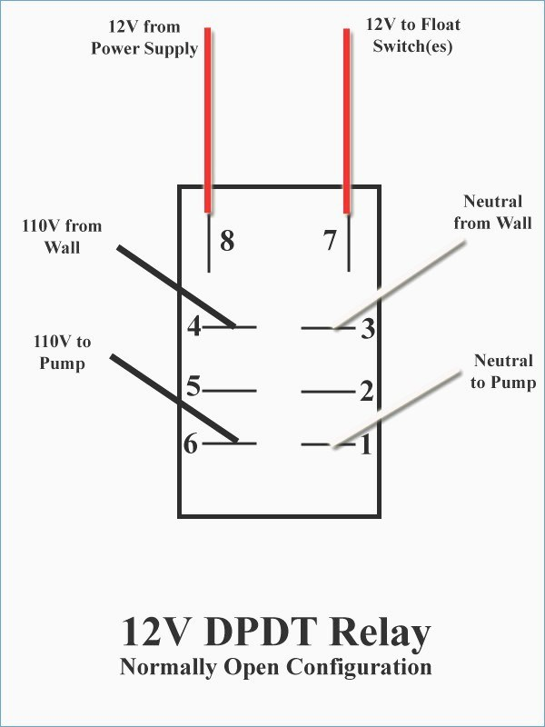 on3165 12v normally closed relay wiring diagram wiring diagram