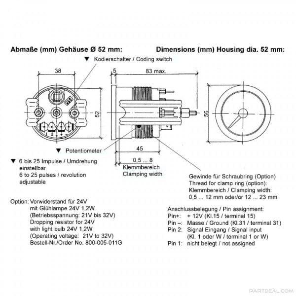 vdo engine synchronizer gauge wiring diagram  pioneer auto