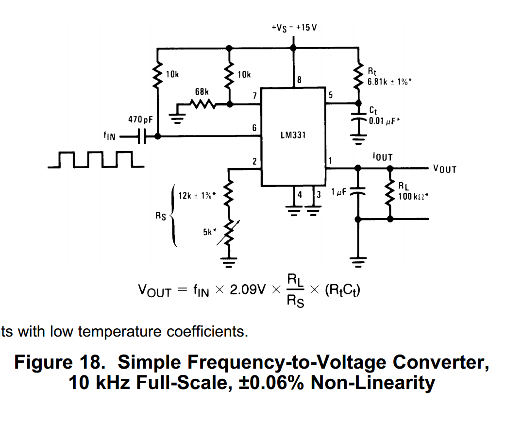 10 X  LM331 N Voltage-to-Frequency Converters IC