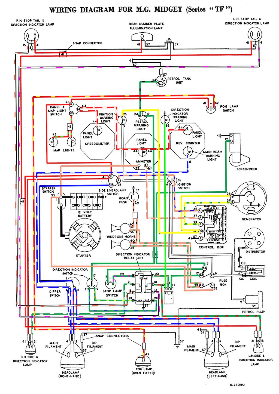 mg turn signal wiring diagram mg td wiring diagram wiring diagram e6  mg td wiring diagram wiring diagram e6