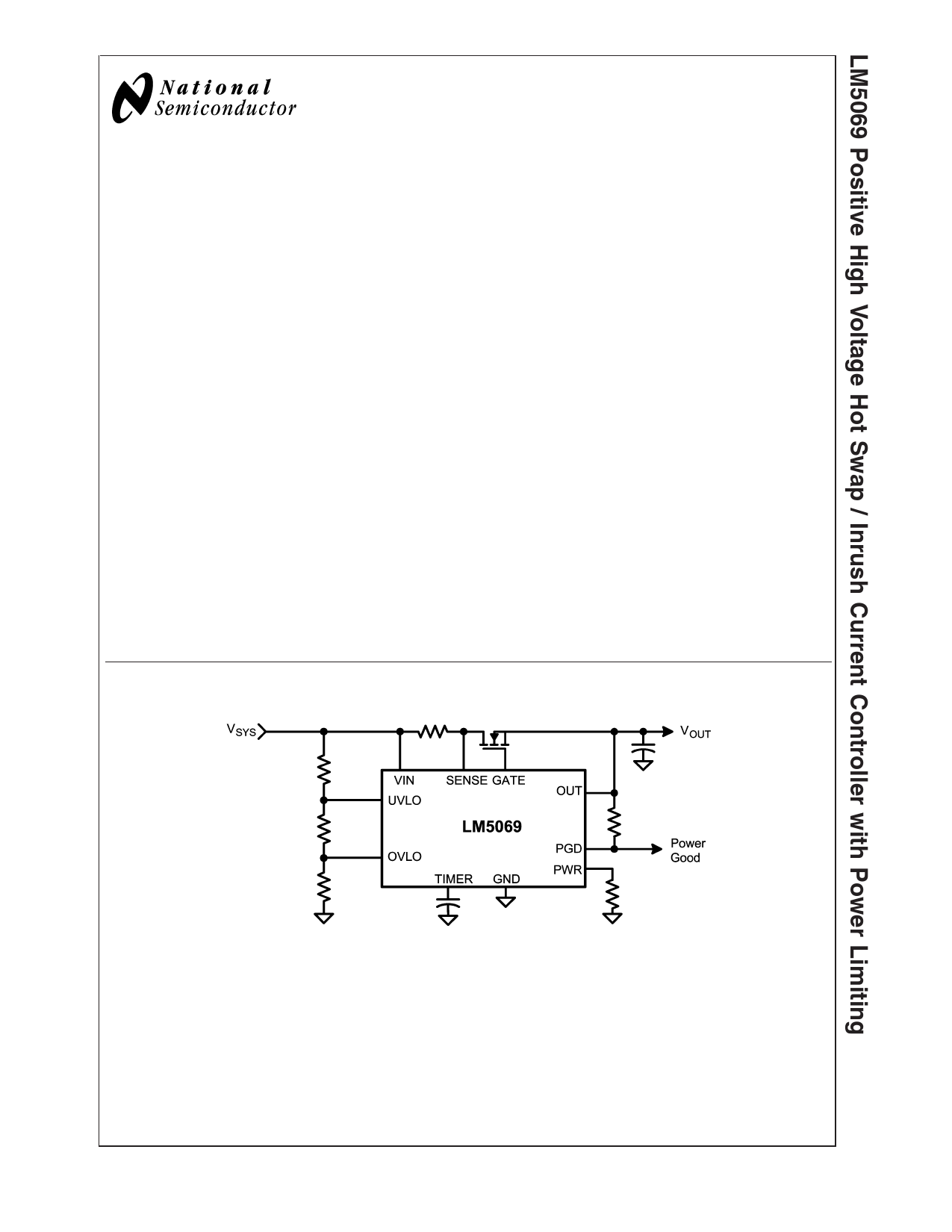 Enjoyable Datasheet Lm5069 Pdf Positive High Voltage Hot Swap Inrush Wiring Cloud Genionhyedimohammedshrineorg