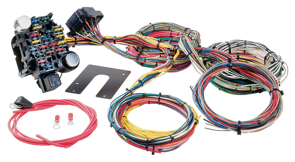 Fantastic Painless Performance Wiring Harness Muscle Car 26 Circuit Classic Wiring Cloud Dulfrecoveryedborg