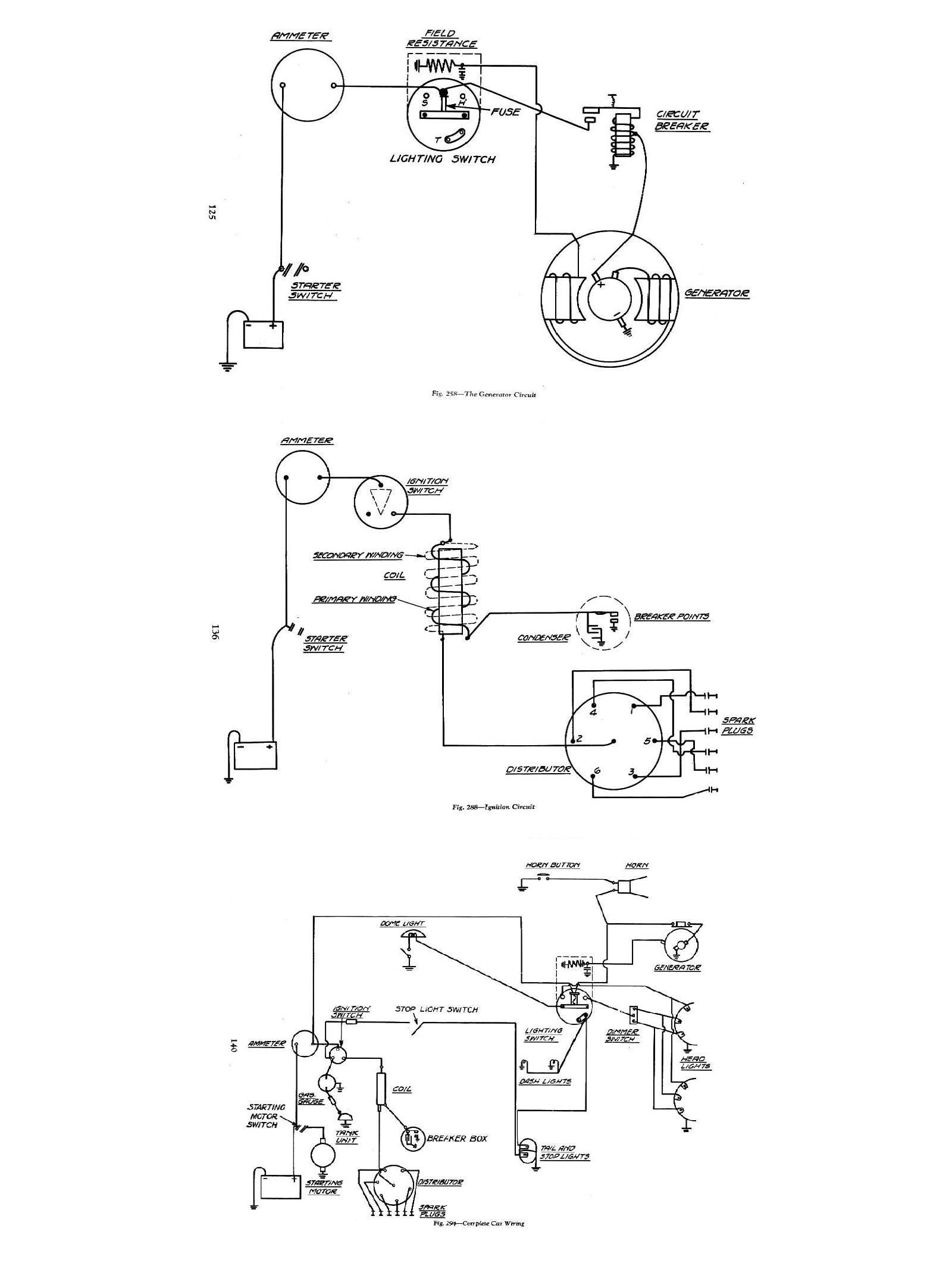 Marvelous Complete Electrical Wiring Diagram For 1934 Chevrolet Basic Wiring Cloud Eachirenstrafr09Org