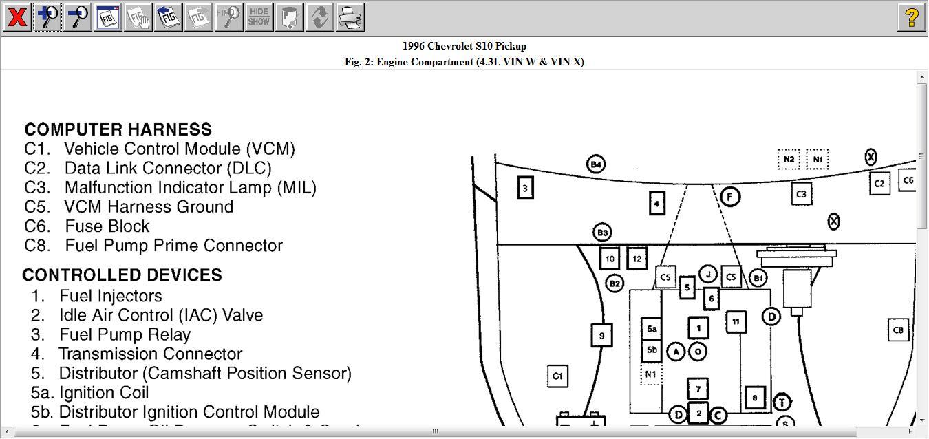 Yw 1321 2000 S10 Fuel Pump Wiring Diagram Schematic Wiring