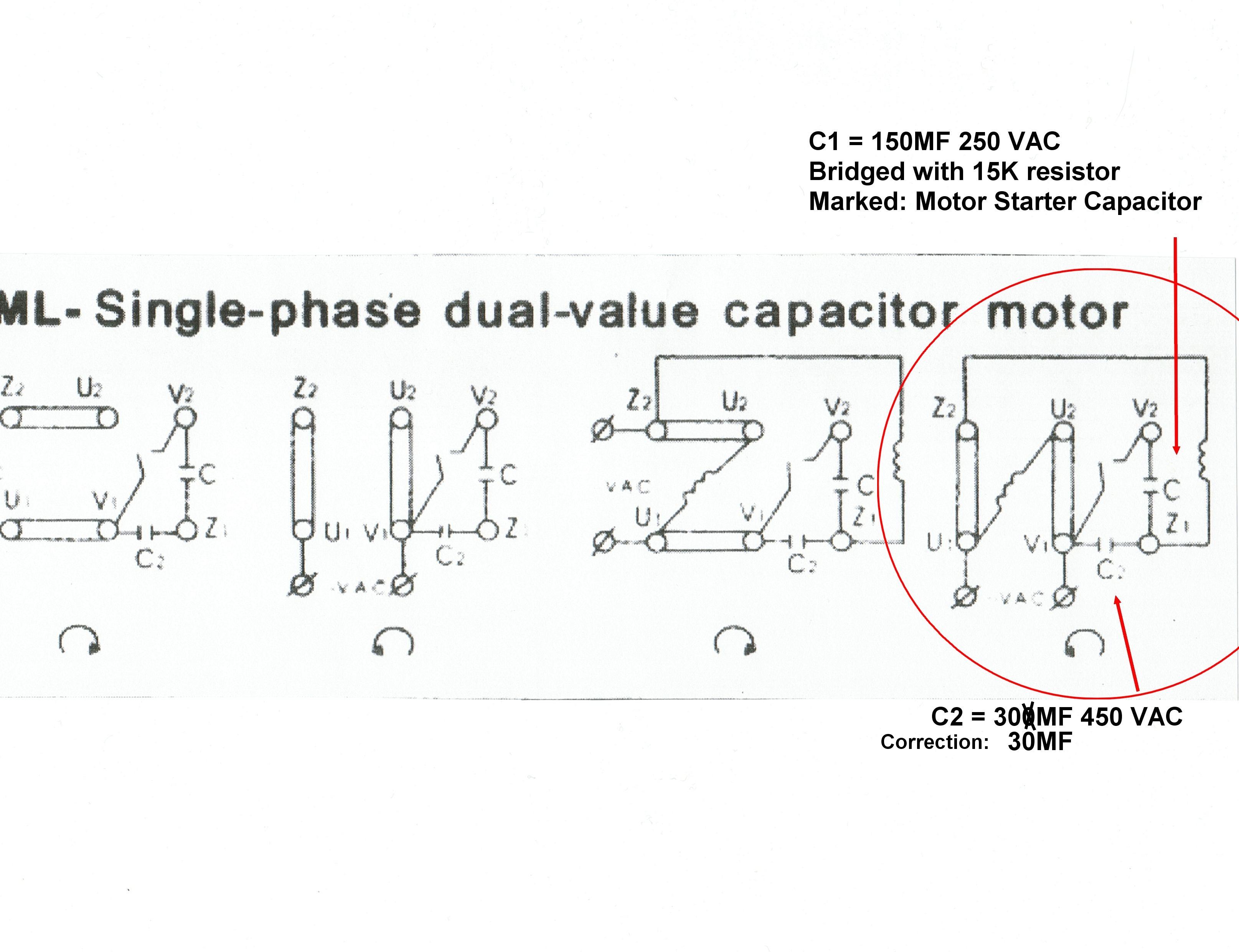 Peachy 220 Volt Single Phase Capacitor Start Motor Wiring Diagram Wiring Wiring Cloud Histehirlexornumapkesianilluminateatxorg