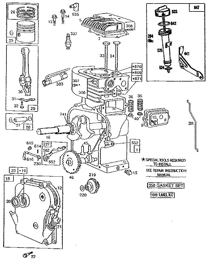 briggs engine diagram briggs stratton engine diagram wiring diagram data briggs and stratton engine diagram briggs stratton engine diagram wiring