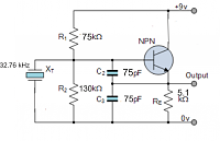 Brilliant 32 76 Khz Colpitts Oscillator Circuit Wiring Cloud Ittabpendurdonanfuldomelitekicepsianuembamohammedshrineorg