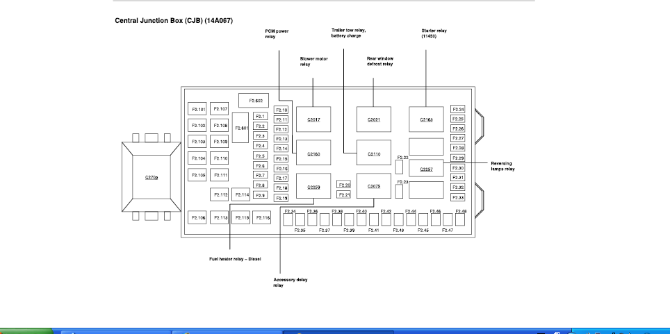 2010 f250 fuse box diagram ct 5709  2010 ford 6 4 diesel fuse diagram  ct 5709  2010 ford 6 4 diesel fuse diagram
