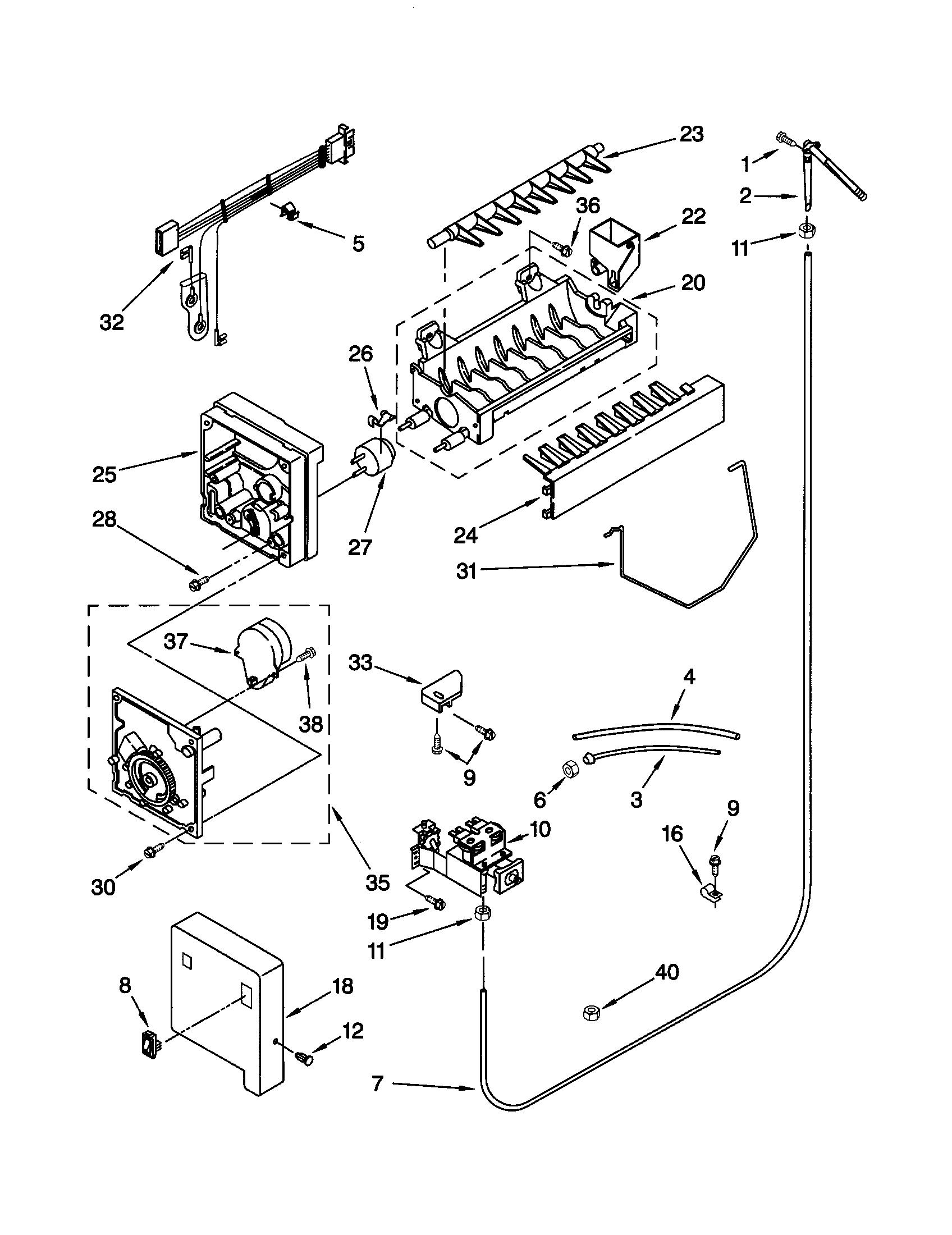 ZT_4706] Ice Maker Wiring Diagram Also Kenmore Refrigerator Ice Maker  Diagram Wiring DiagramOupli Pala Antus Tixat Rosz Trons Mohammedshrine Librar Wiring 101
