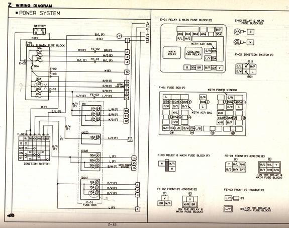 ZE_2536] 1991 Miata Wiring Diagram Schematic WiringXeira Diog Dupl Rine Inifo Pap Mohammedshrine Librar Wiring 101