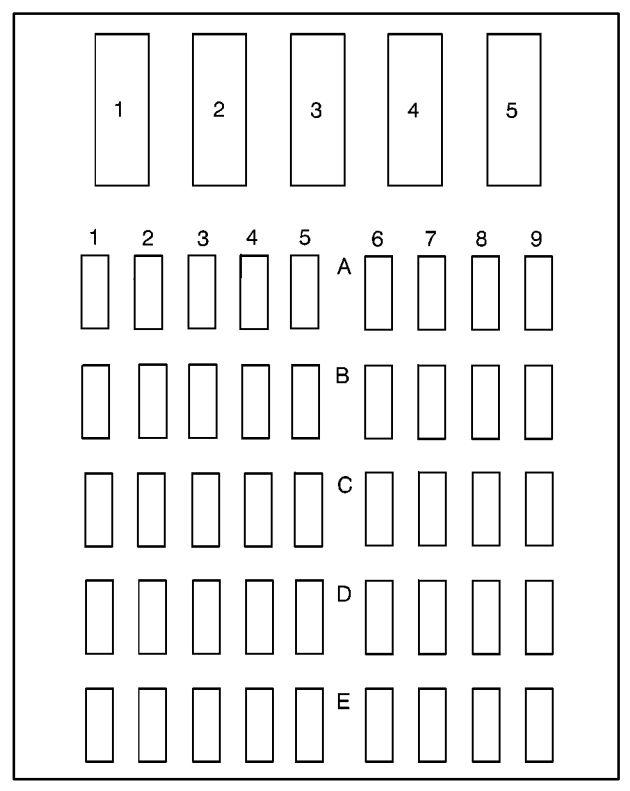 2000 Buick Park Avenue Fuse Box Diagram Free Download