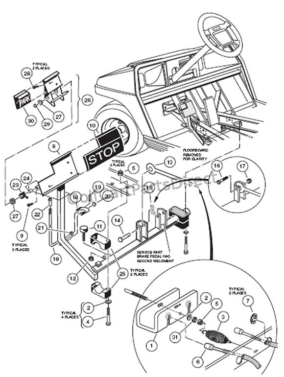 fn7040 36 volt club car wiring diagram ez go golf cart